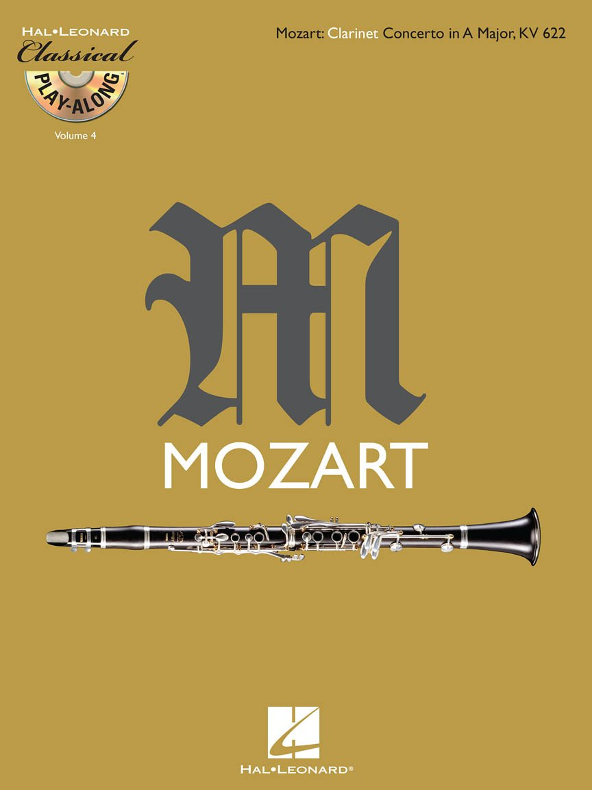 Mozart, W.A.: Concerto for Clarinet & Orchestra KV 622 - with Play Along CD