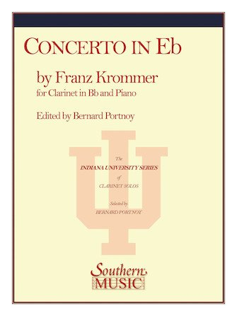 Krommer, Franz: Concerto in Eb for Clarinet & Piano