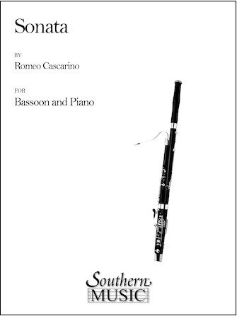 Cascarino, Romeo: Sonata for Bassoon & Piano