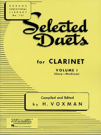Selected Duets for Clarinet Volume 1