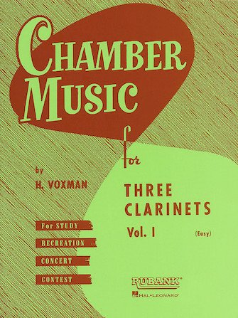 Chamber Music for Three Clarinets Volume 1