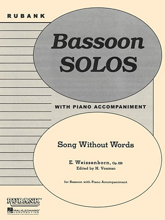 Weissenborn, Julius (ed. Voxman): Song Without Words for Bassoon & Piano