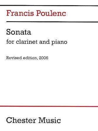 Poulenc, Francis: Sonata for Clarinet & Piano