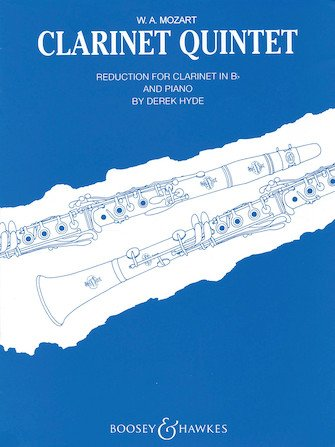 Mozart, W.A. (arr. Hyde): Clarinet Quintet for Clarinet & Piano
