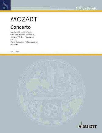 Mozart, W.A.: Concerto for Clarinet & Orchestra KV622