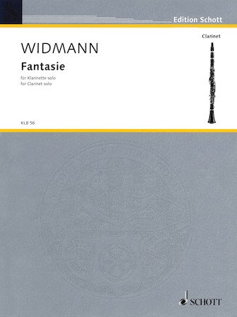 Widmann, Jorg: Fantasie for Clarinet Solo