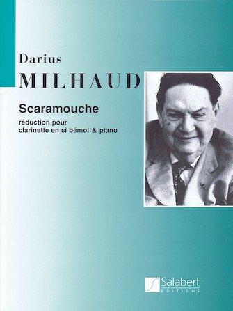 Milhaud, Darius: Scaramouche for Clarinet & Piano