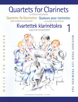 Clarinet Quartets for Beginners