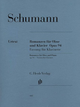 Schumann, Robert: Three Romances, Op. 94 for Oboe & Piano
