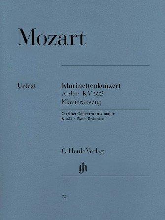 Mozart, W.A.: Concerto for Clarinet & Orchestra KV 622