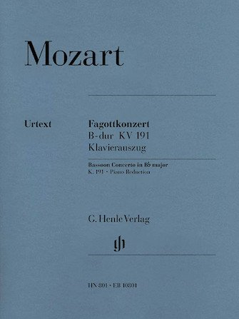Mozart, W.A.: Concerto for Bassoon in B-flat major, K. 191
