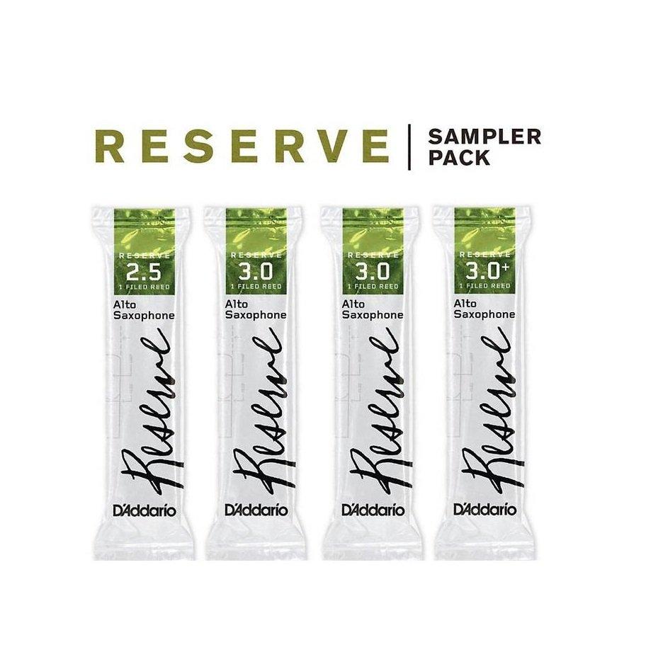 D'Addario Reserve Tenor Saxophone Reed Sampler Pack