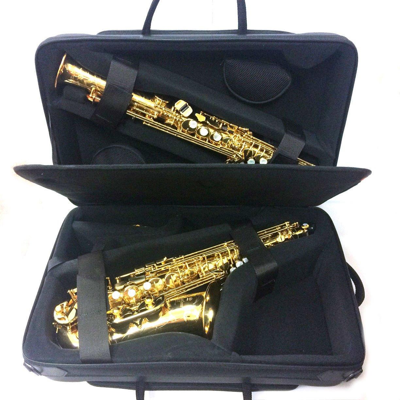 Tortajada Double Soprano & Alto Saxophone Case