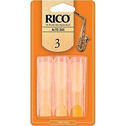 Rico Saxophone Reeds - 3 Pack