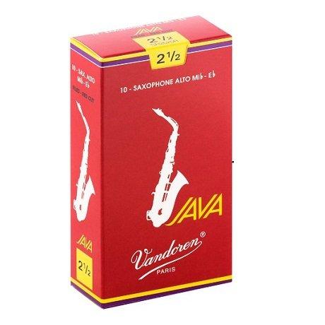 Vandoren Java Red Saxophone Reeds