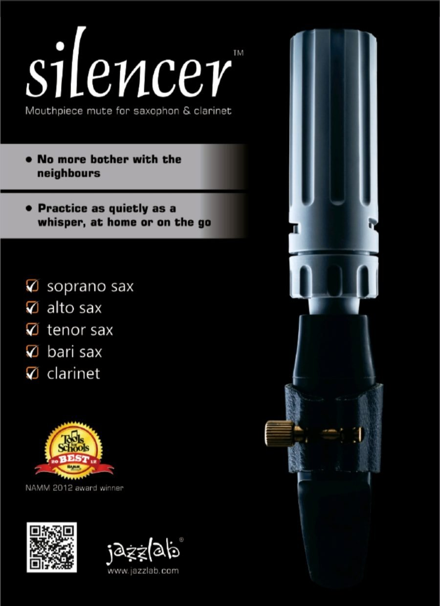 Jazzlab Silencer for Saxophone or Clarinet