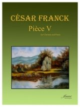 Franck, Cesar: Piece V for Clarinet & Piano