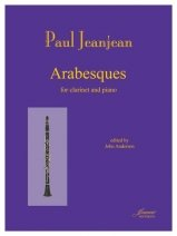 Jeanjean, Paul: Arabesques for Clarinet & Piano