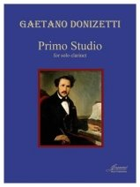 Donizetti, Gaetano: Primo Studio for Solo Clarinet