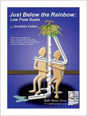 Cohen, Jonathan: Just Below the Rainbow Low Flute Duets