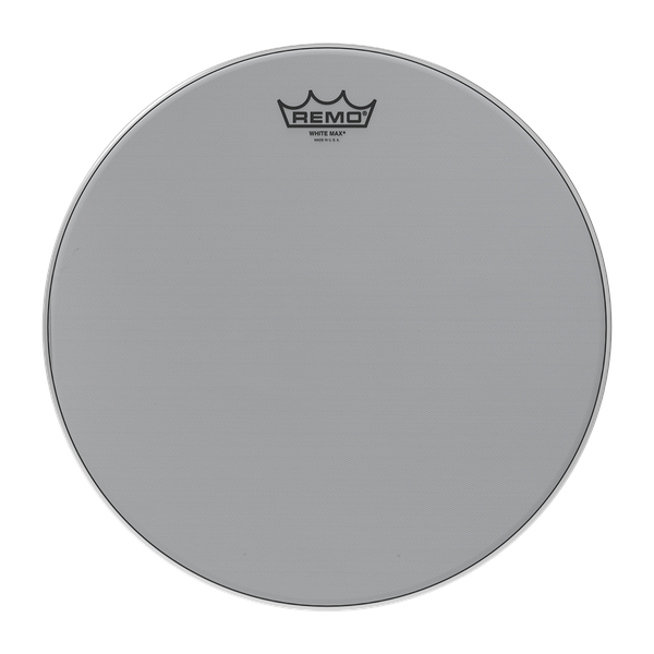 Remo White Max Marching Snare Drum Heads