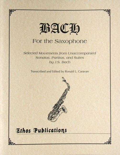 Caravan, Ronald (ed.): Bach for the Saxophone