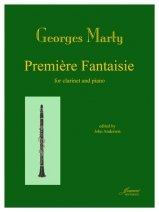 Marty, Georges: Premiere Fantaisie for Clarinet & Piano