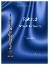 Rabaud, Henri (ed. Anderson): Solo de Concours for Clarinet & Piano