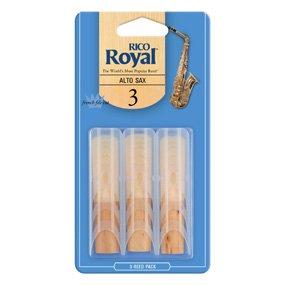 Rico Royal Saxophone Reeds - 3 Pack