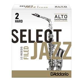 D'Addario Select Jazz Filed Saxophone Reeds