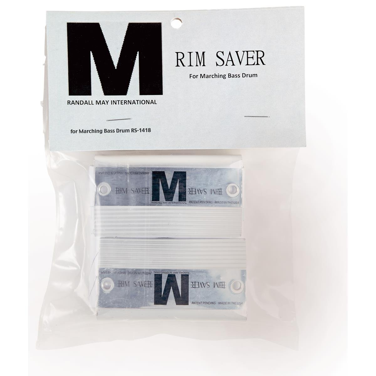 Randall May Rim Saver for Marching Bass Drum