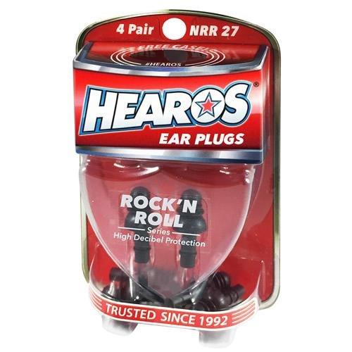 Hearos Rock N Roll Series High Decibel Ear Plugs