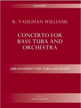 Vaughan Williams, R.: Concerto for Bass Tuba & Orchestra (Piano Reduction)