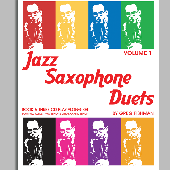 Fishman, Greg: Jazz Saxophone Duets Volume 1