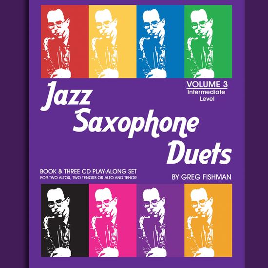 Fishman, Greg: Jazz Saxophone Duets Volume 3