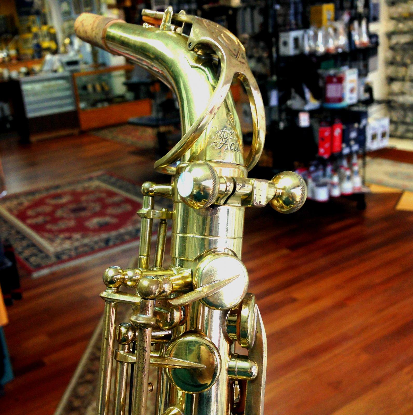 Ergonomic Heavy Mass Neck Screws for Selmer or Yanagisawa Saxophones