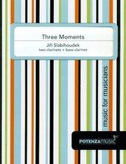 Slabihoudek, Jiri: Three Moments for Two Clarinets & Bass Clarinet