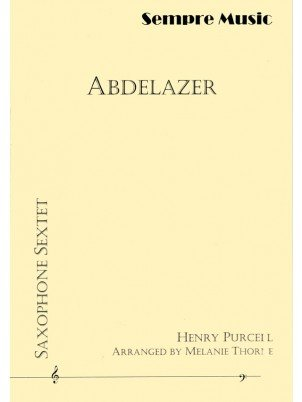 Purcell, Henry (arr. Thorne): Abdelazer for Saxophone Sextet