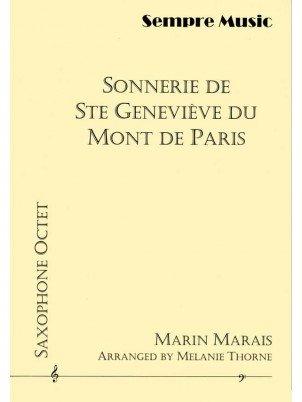 Marais, Marin (arr. Thorne): Sonnerie De Ste Genevieve Du Mont De Paris for Saxophone Octet