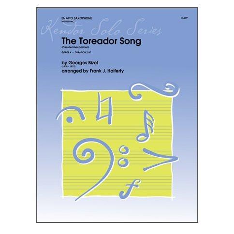 Bizet, George (Halferty): The Toreador Song for Alto Saxophone & Piano