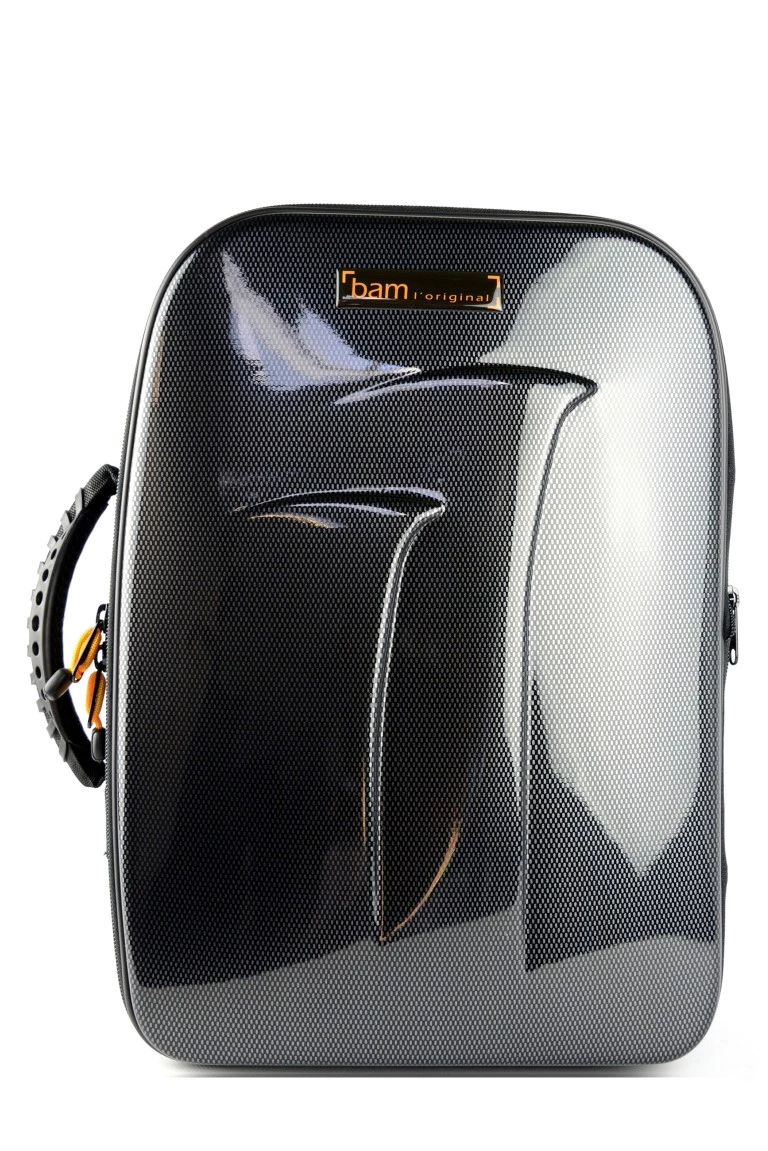 BAM New Trekking Double Clarinet Case - Black Carbon