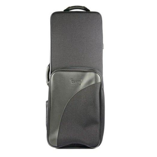BAM Trekking Tenor Saxophone Case - Silver Carbon