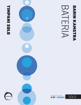 Kamstra, Darin: Bateria for Solo Timpani