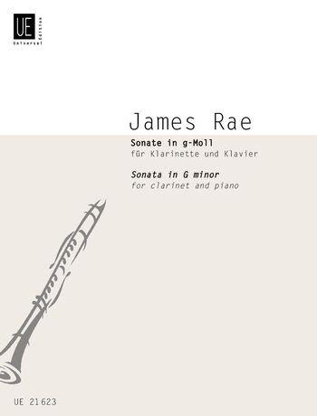 Rae, James: Sonata in G minor for Clarinet & Piano