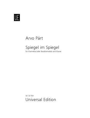 Part, Arvo: Spiegel im Spiegel for Clarinet & Piano