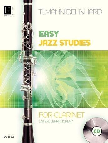 Dehnhard, Tilmann: Easy Jazz Studies for Clarinet