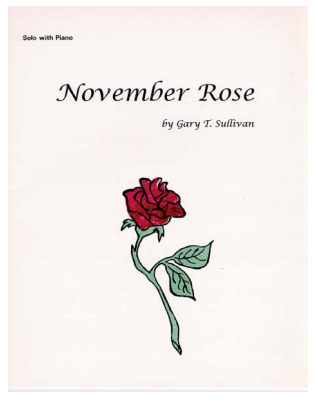 Sullivan, Gary: November Rose for Bb Clarinet & Piano