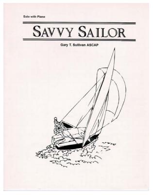 Sullivan, Gary: Savvy Sailor for Bb Clarinet & Piano