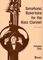 Drapkin, Michael: Symphonic Repertoire for the Bass Clarinet Volume 1