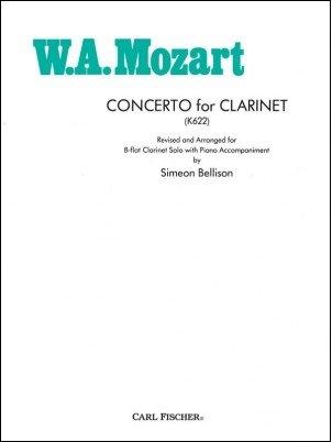 Mozart, W.A. (arr. Bellison): Concerto for Clarinet K622